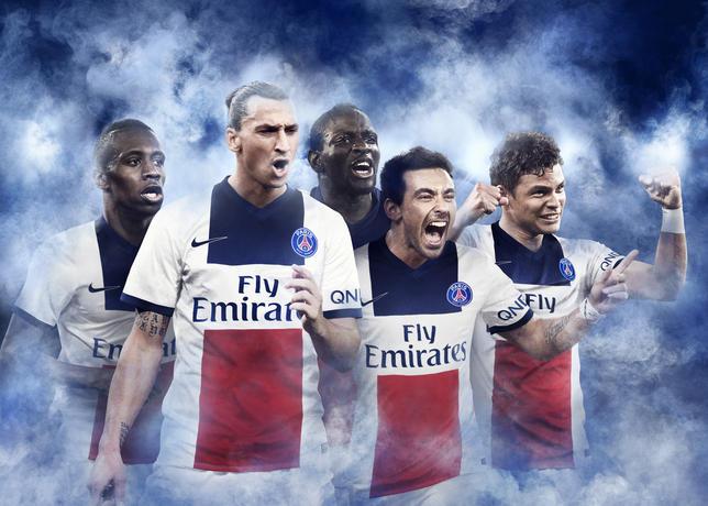 PSG uitshirt 2013-2014