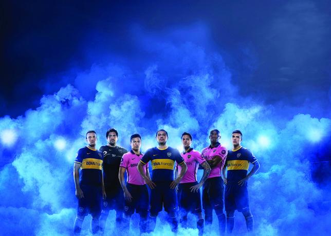 Boca Juniors uitshirt 2013-2014