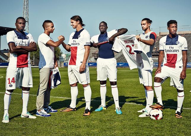 Paris Saint Germain uitshirt 2013-2014