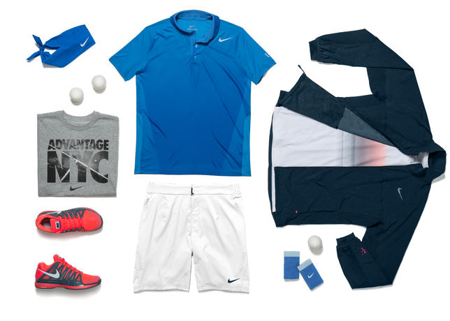 US OPEN 2013 - Les tenues Nike de Federer Nadal Sharapova S.Williams... - SportBuzzBusiness.fr