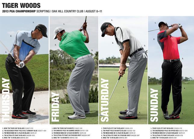 The Eye of the Tiger! 2013_PGA_Championship_PR_Scripting_Tiger_Woods_large