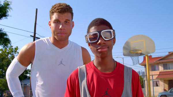 Blake Griffin Lifts Off in New Jordan Campaign
