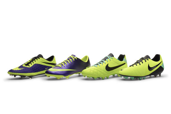 Nike Football catches the eye with 'high visibility' boot collection