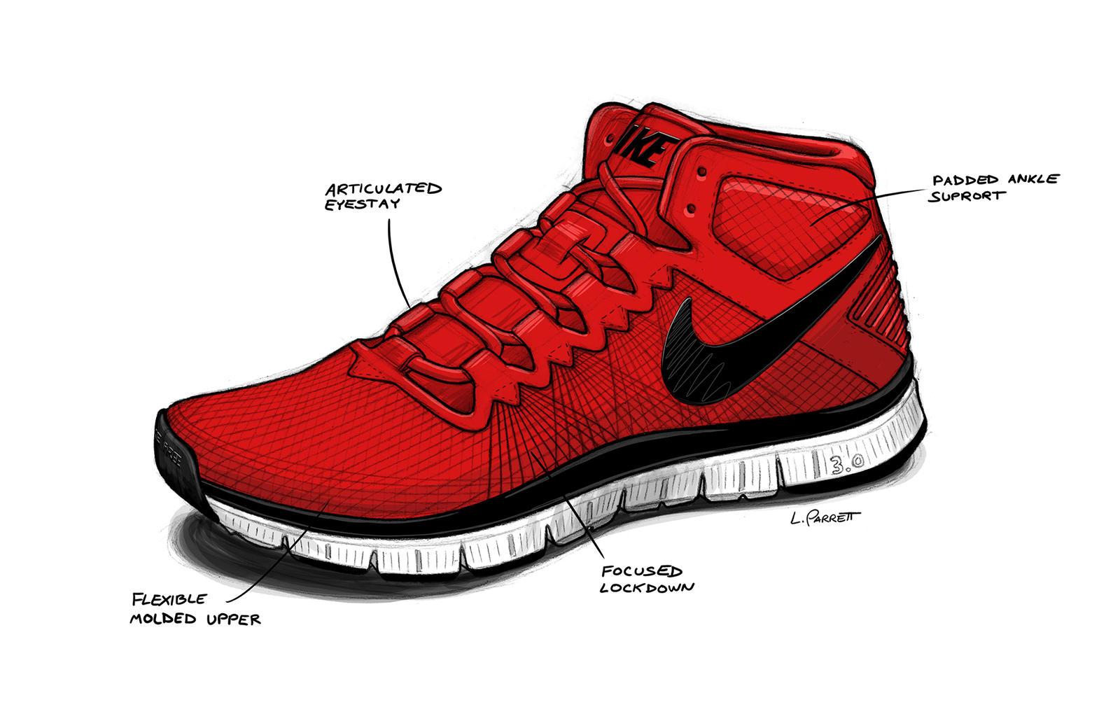 nike free trainer 3.0 running shoe