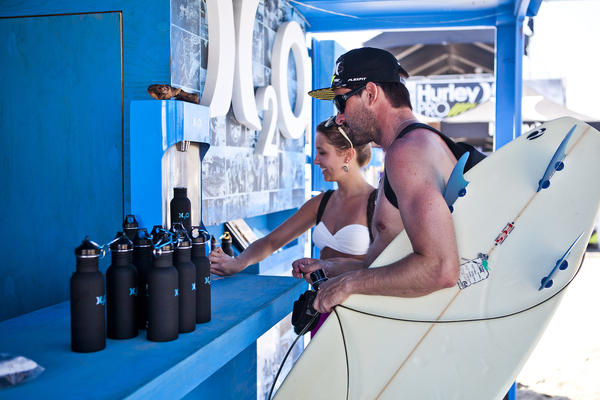 Hurley H2O Launches Blue Room and Debuts Water Awareness Platforms at the Hurley Pro