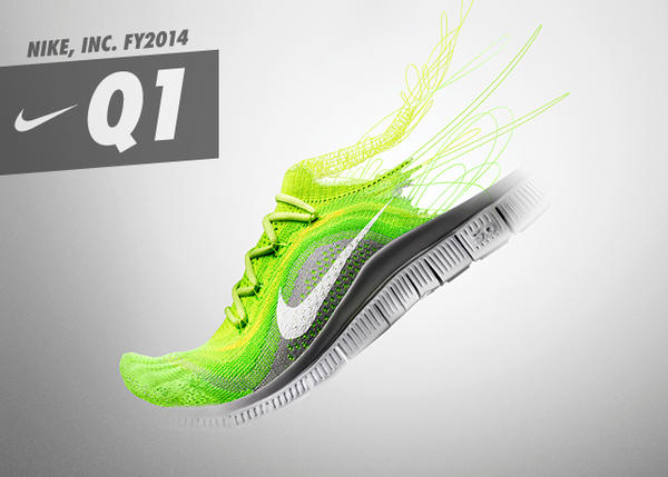 NIKE, INC. Reports Fiscal 2014 First Quarter Results