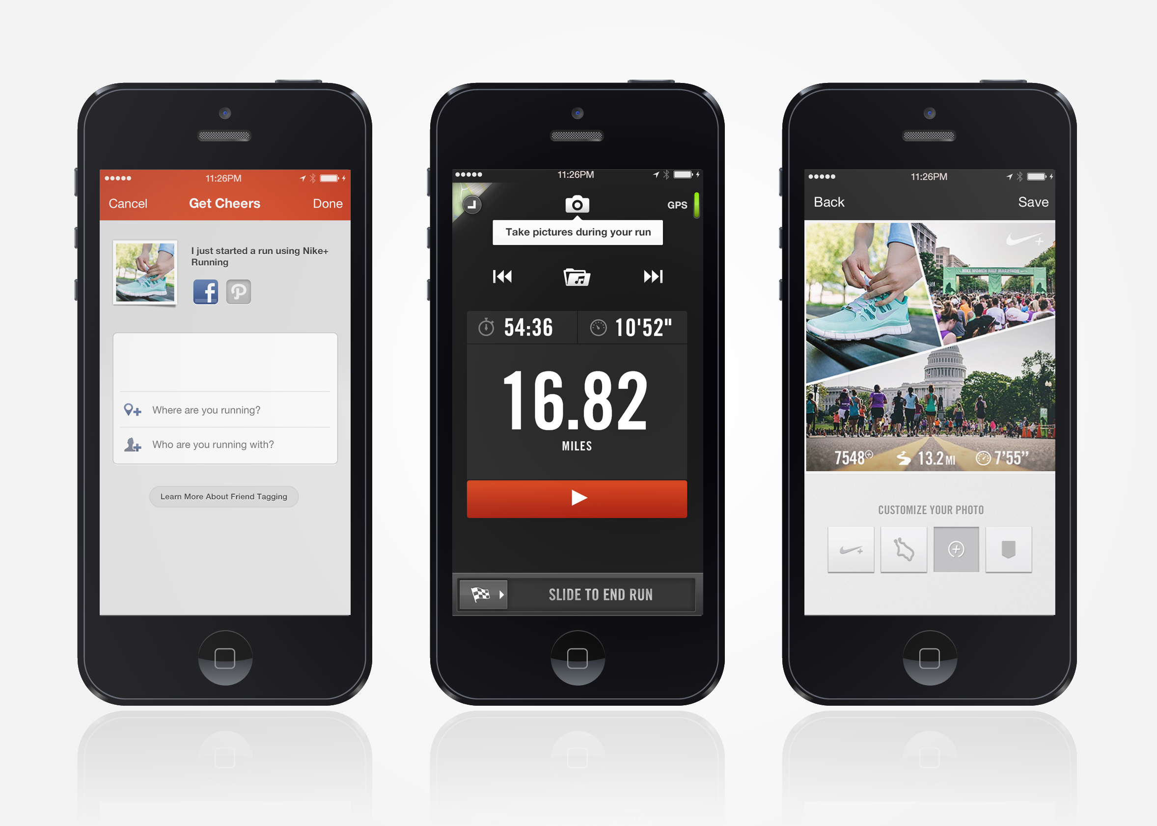 Lo · Hi Nike+ Running App