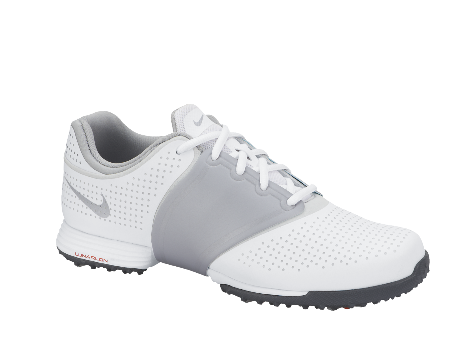 Excellent Nike Womens Lunar Links Golf Shoes White/Grey - Carlu0026#39;s Golfland