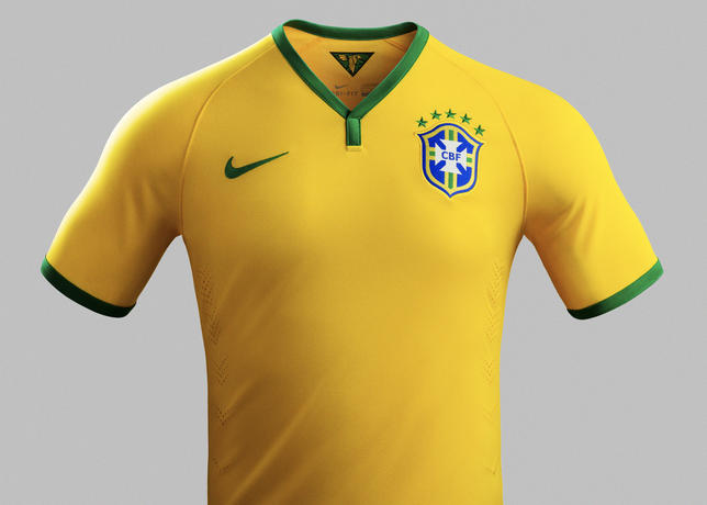 Official! Brazil launch Nike World Cup 2014 kit [Pictures & video]