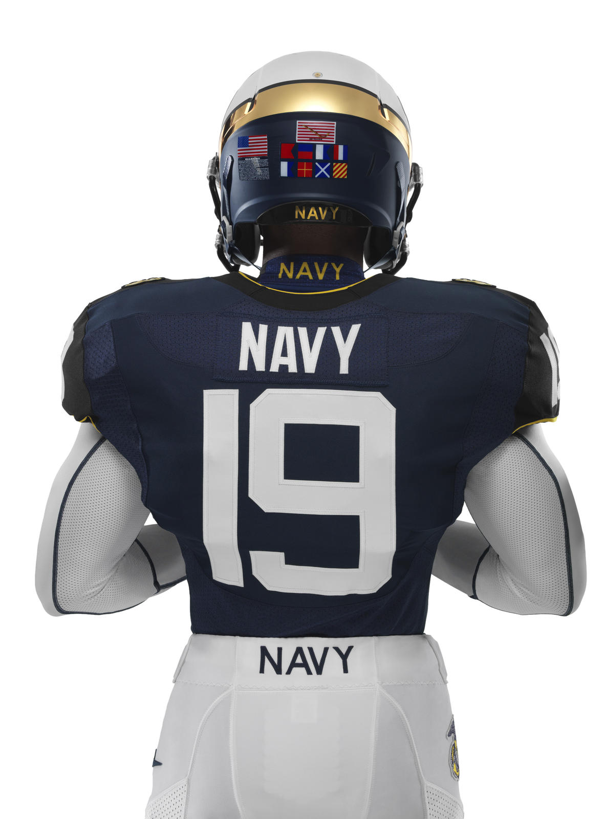 Nike Navy Midshipmen Shoes