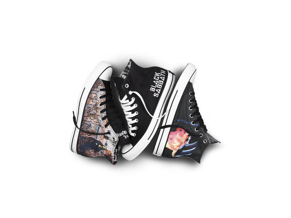 Converse Unveils New Footwear Collection With Legendary Band Black Sabbath