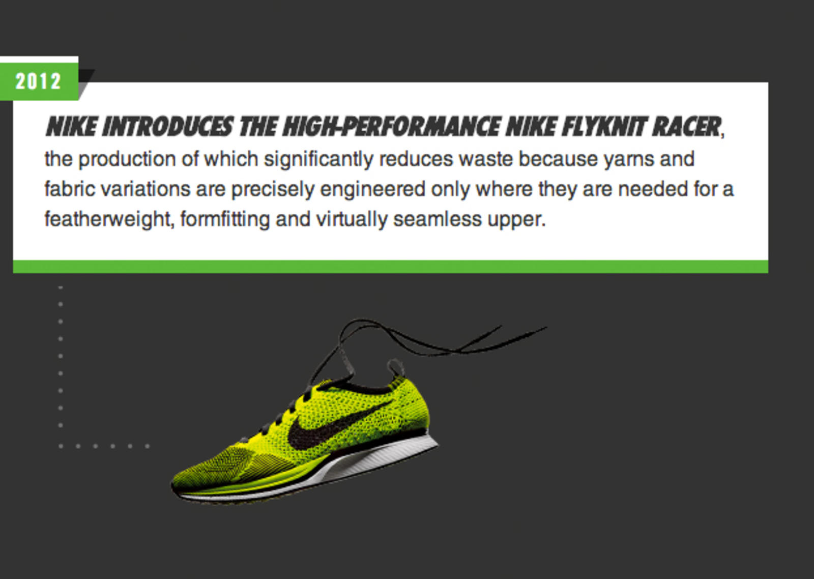 history of the nike as a company Nike says that its corporate operations and its retail stores are all about the  athletes they serve and the inspiration and innovation that nike.