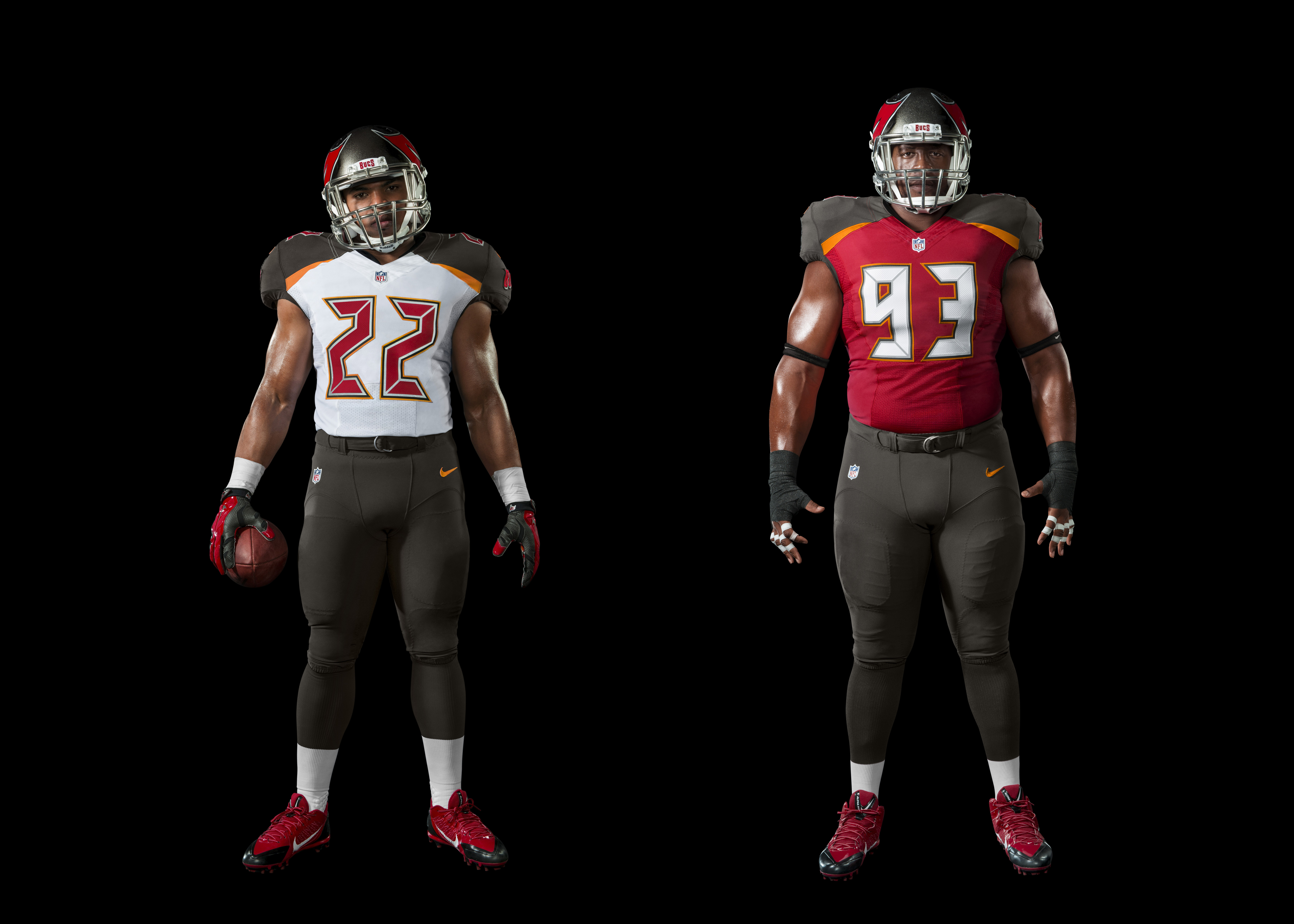 Tampa Bay Buccaneers Home and Away Cup Set