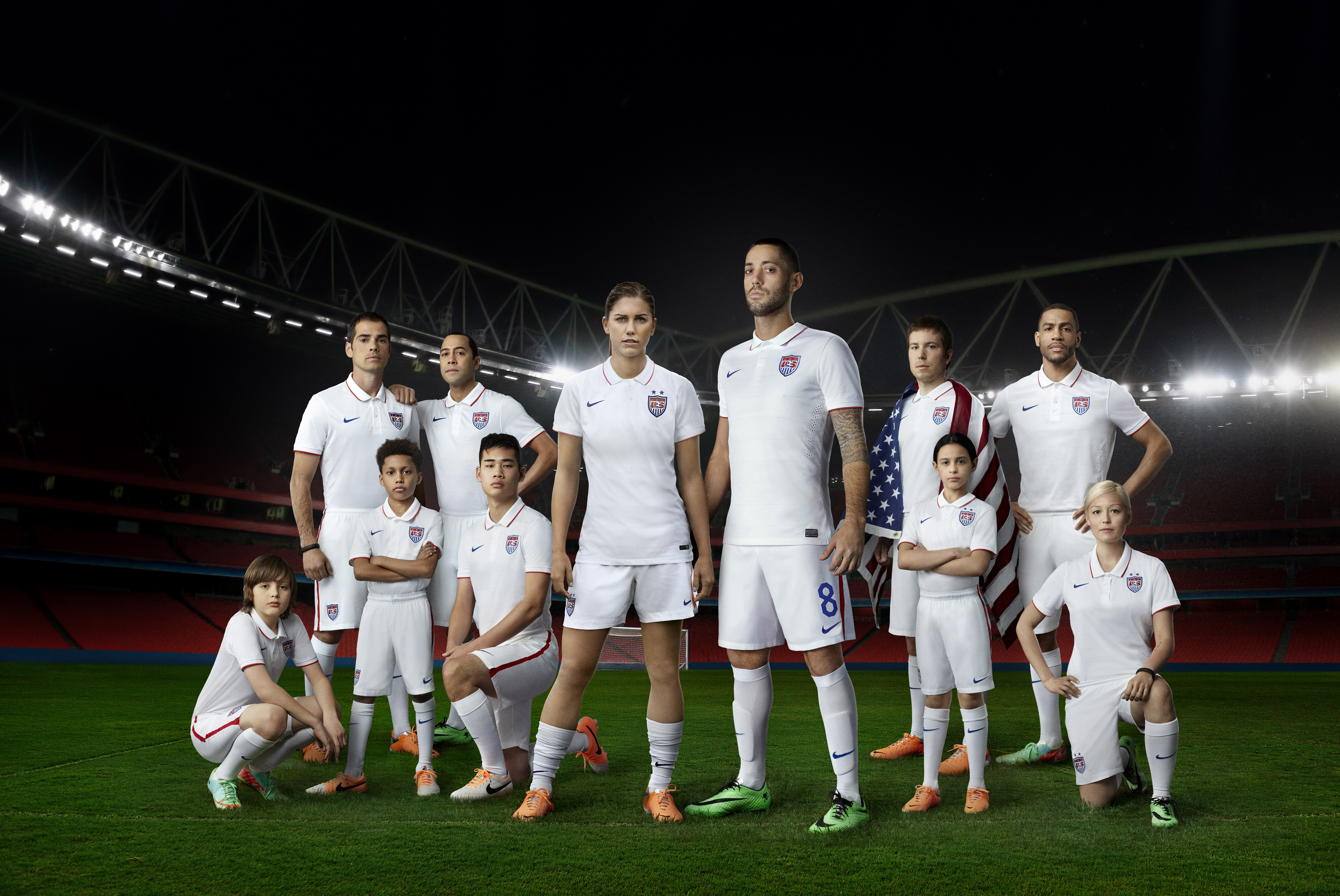 U.S. Unveils 2014 National Team Kit with Nike Soccer - Nike News