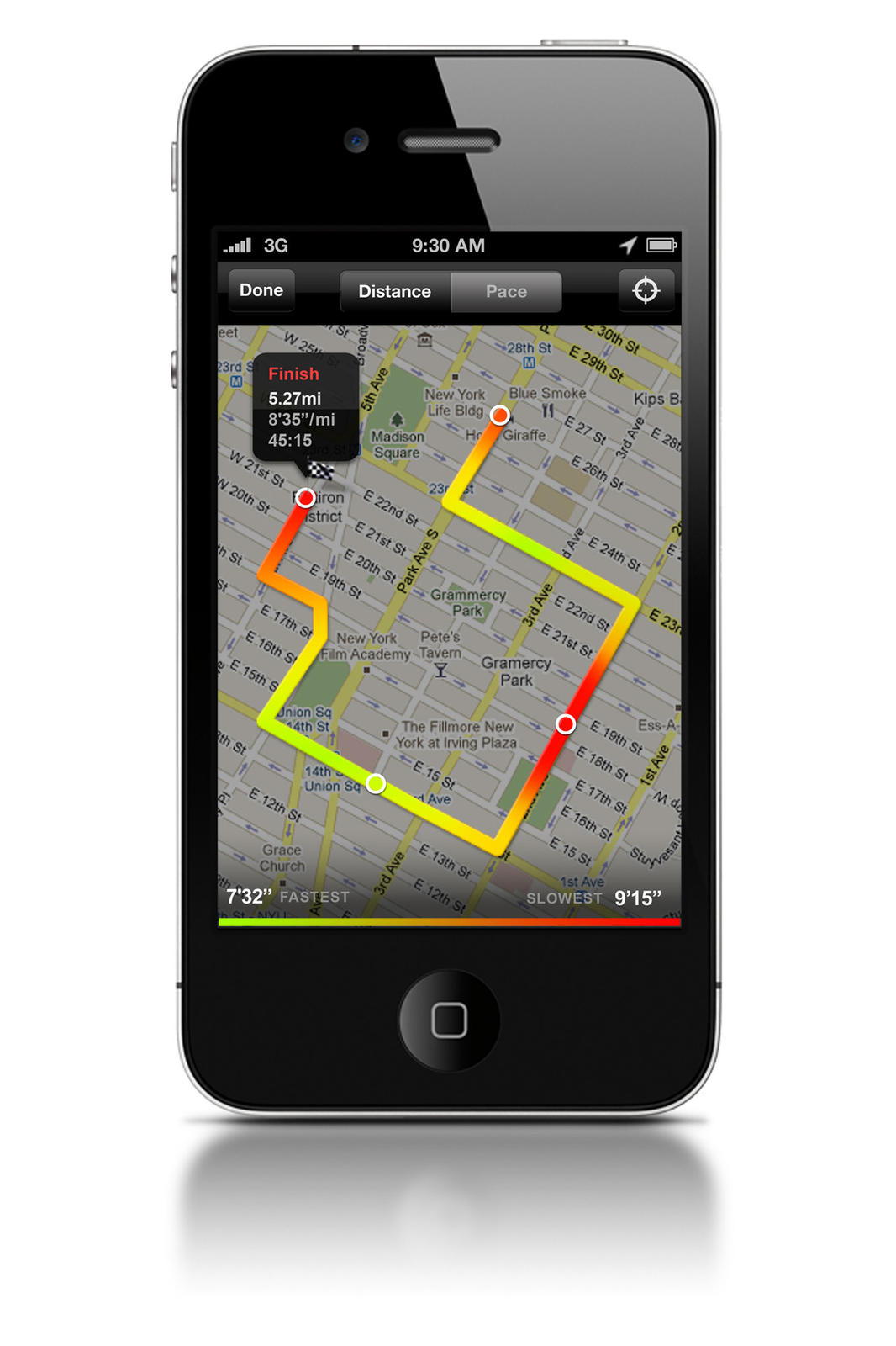 map your run with new nike gps app nike news. Black Bedroom Furniture Sets. Home Design Ideas
