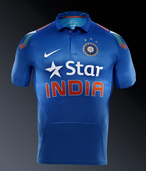Nike Cricket Presents India National Team Kit