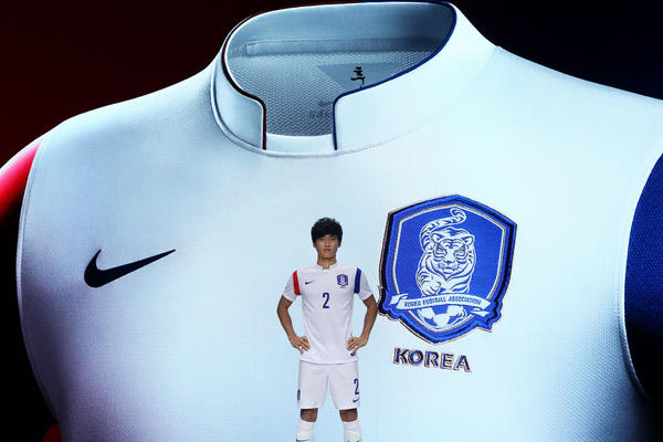 Korea Unveils New Nike Away Kit for 2014