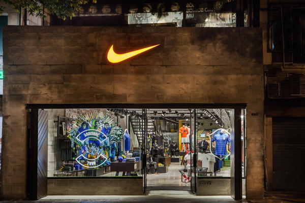 Nike Opens First Football-Only Store in Brasil