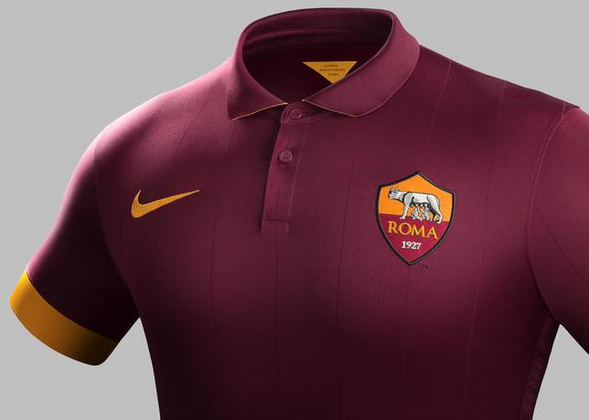 Ini Dia Jersey Kandang Terbaru AS Roma Musim 2014/2015 - berita Liga Italia
