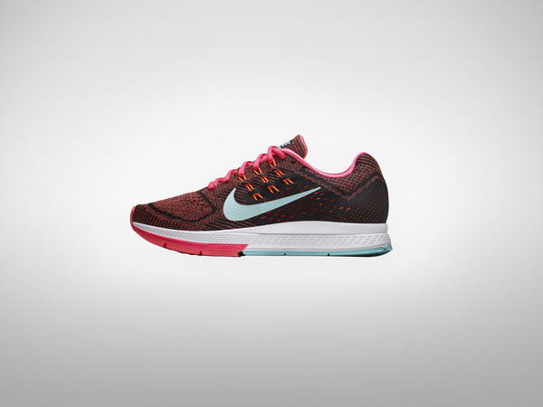 womens nike air zoom structure 18 pink