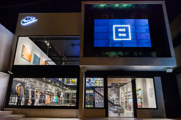 Nike Opens First-Ever Pop-Up Store in Brasil