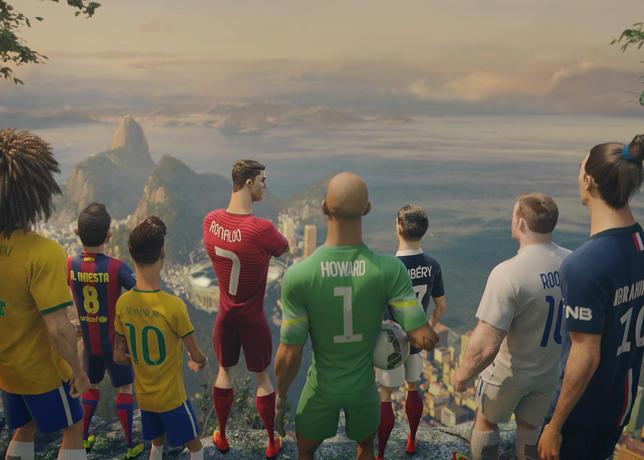 The Last Game, el increíble último comercial en animación de Nike de cara al Mundial