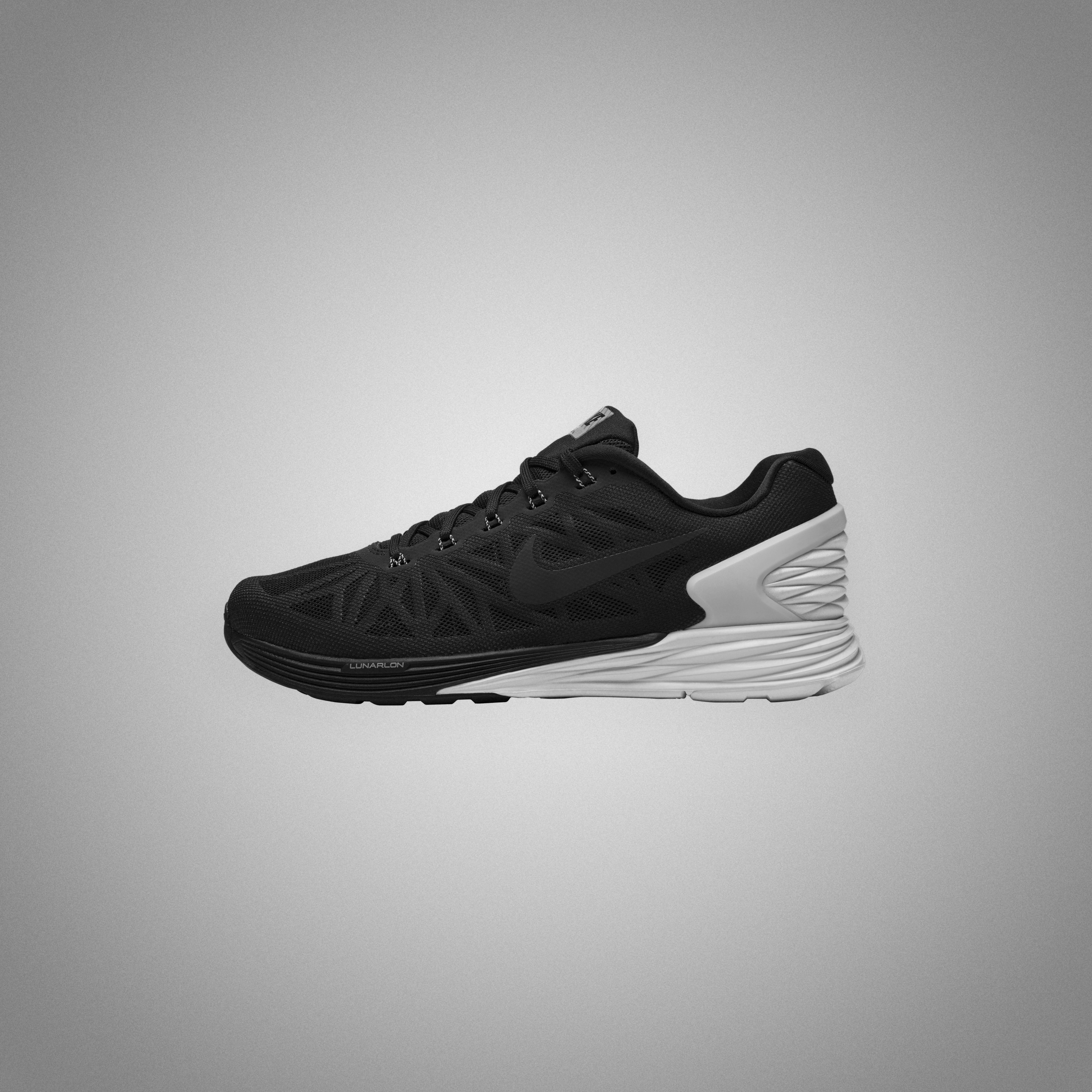 Nike Lunarglide Black Grey VCFA