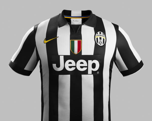 Nike and Juventus Unveil New Home and Away Kits for 2014-15 Season