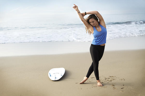 Get on Board with Carissa Moore's N+TC Beach Balance Workout