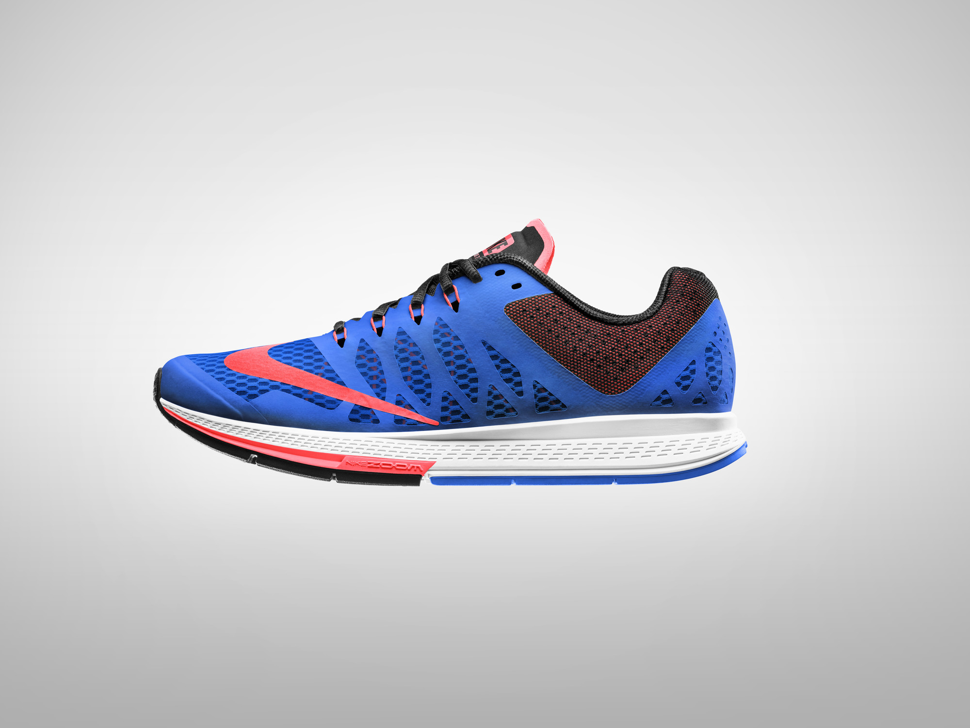 Nike 831562 800: Air Zoom Winflo 3 Orange/Blue Casual Running