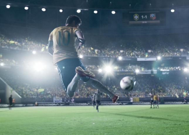 Último comercial de Nike con Neymar y los botines Hypervenom como protagonistas