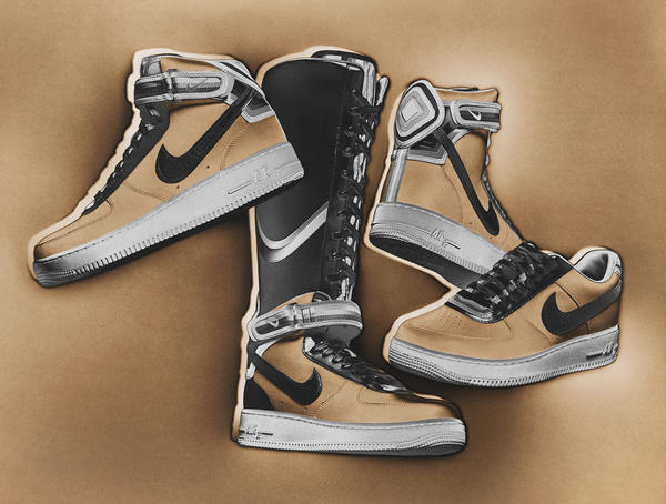 Triangle Offense: The Third And Final Nike + R.T. Air Force 1 Collection