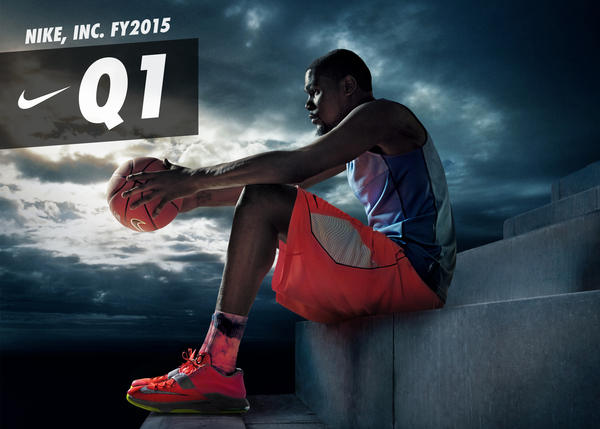 NIKE, Inc. Reports Fiscal 2015 First Quarter Results