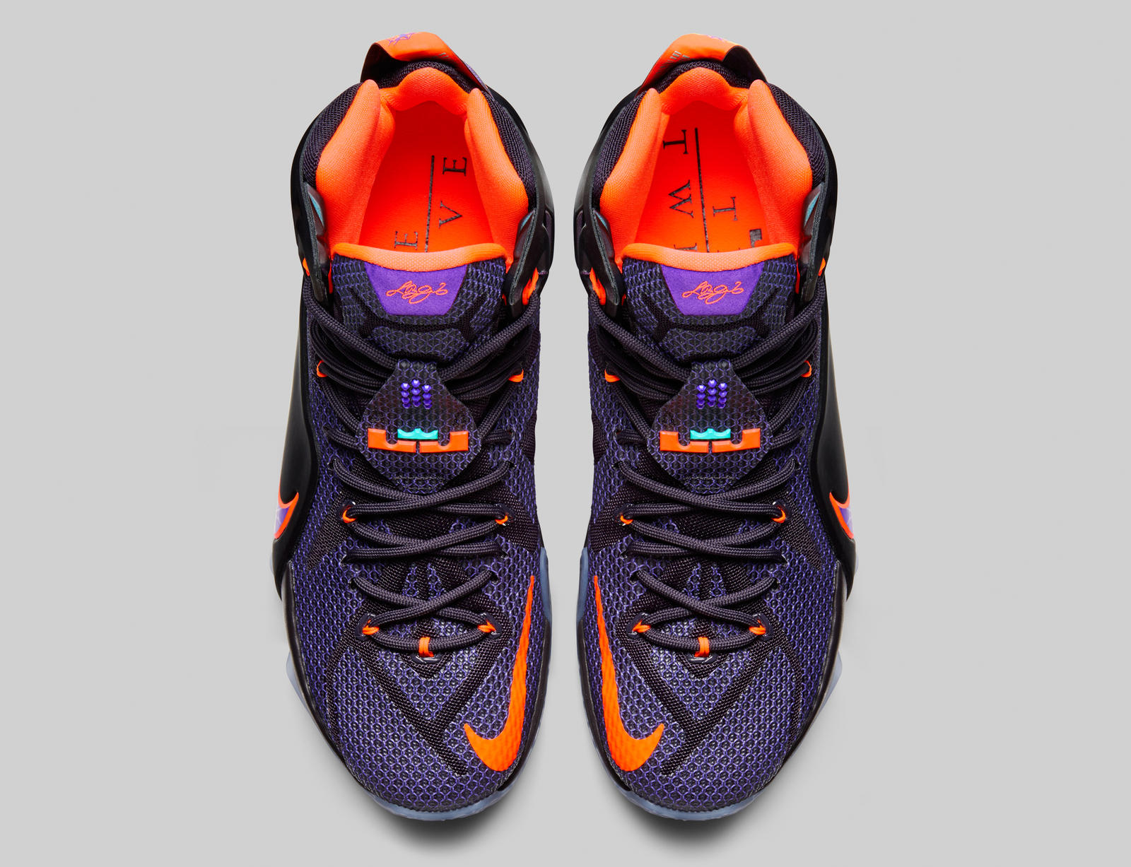womens nike lebron 12 all purple