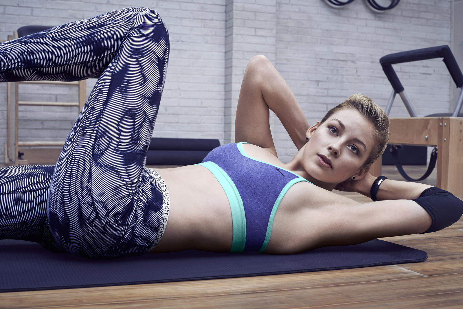 Good as Gold: Gracie Gold's Core Confidence N+TC Workout - Nike News