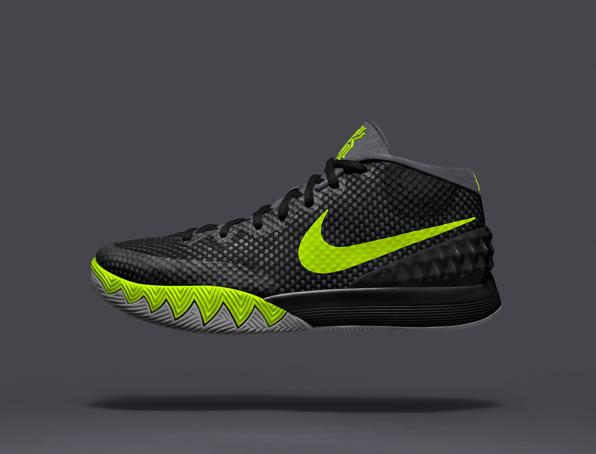 Nike Kyrie 1 Black Green Orange