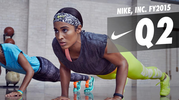 NIKE, INC. REPORTS FISCAL 2015 SECOND QUARTER RESULTS