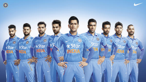 Team India Unveils Nike's New Cricket Kit for One Day Internationals