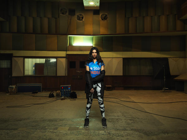 Famed Actress Deepika Padukone Sports New Nike Team India Cricket Jersey