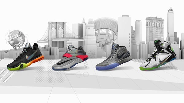 Nike Basketball Collection Honors NYC's Iconic Cityscape and Future-Forward Energy