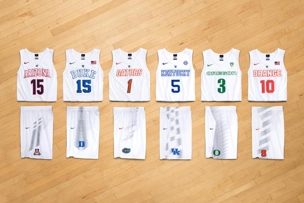Eight NCAA Basketball Teams Ready for Rivalries with New Nike Uniforms