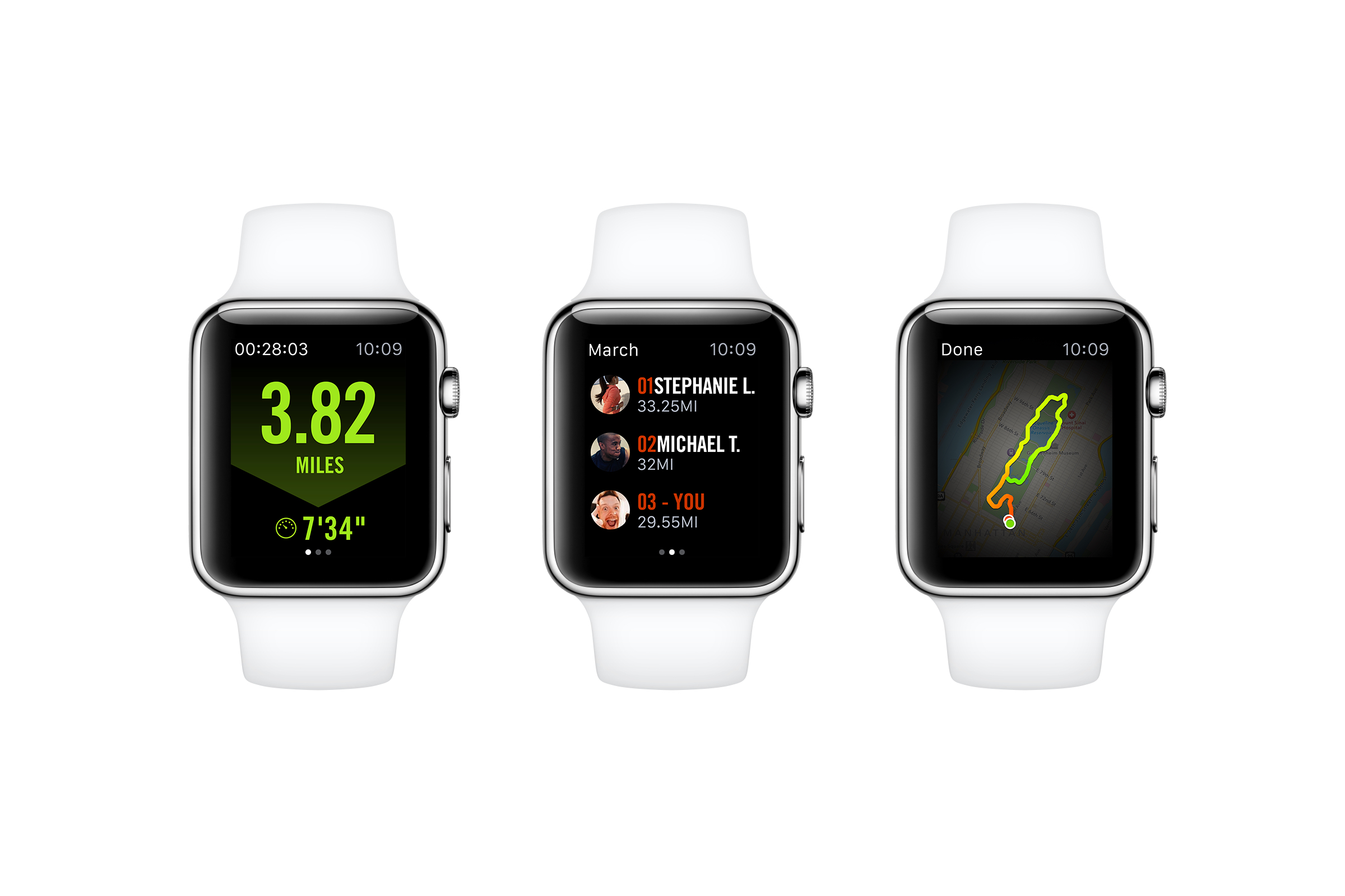 how to change apple watch band nike