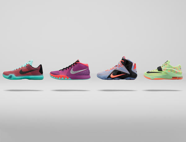 Pastel Hues and Modern Graphics Inspire the Nike Basketball Easter Collection