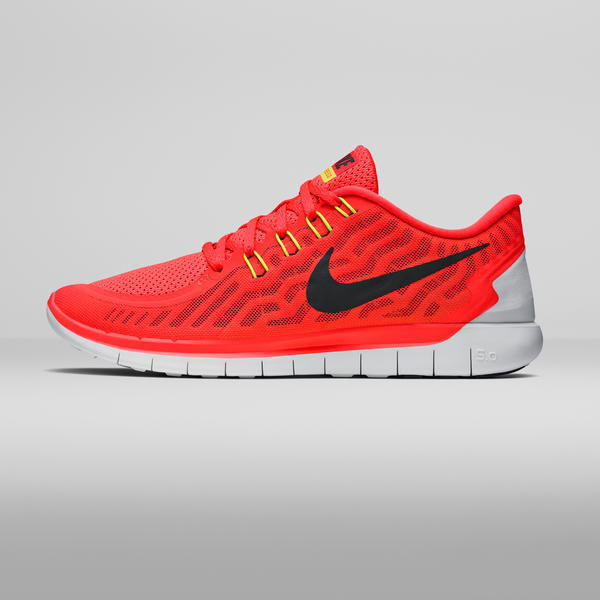 Nike Free 5.0 V4 Pink Glow White Atomic Orange