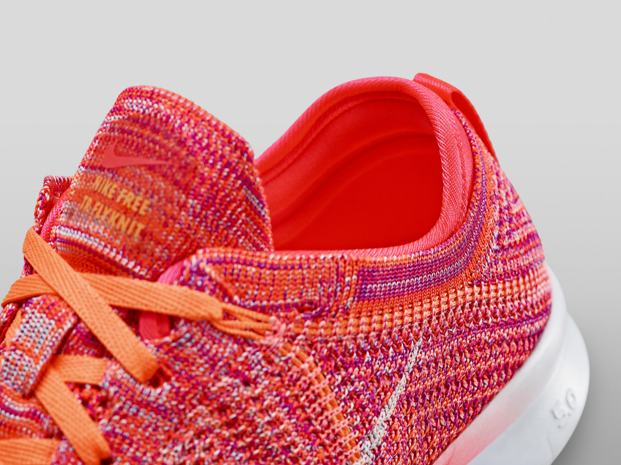 womens nike free tr flyknit 5.0 orange white