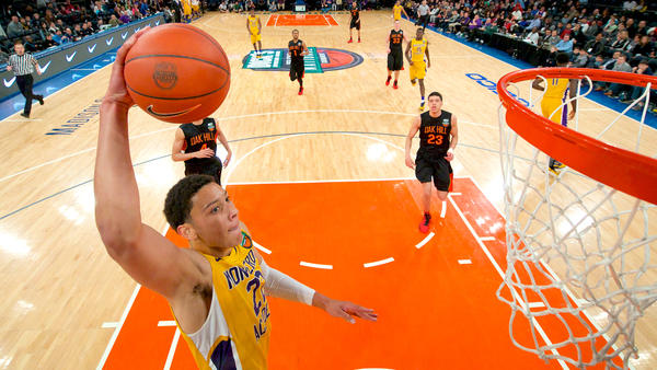 The Basketball Odyssey of Ben Simmons Leads to Nike Hoop Summit