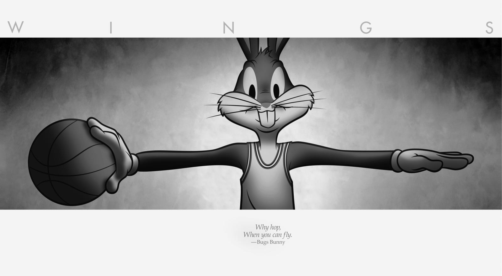 bugs bunny shares the scoop on his latest partnership with michael jordan