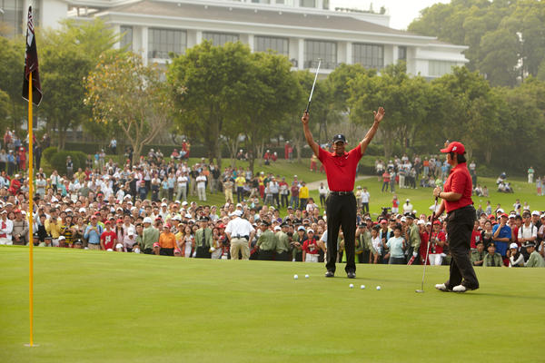 Tiger Woods Returns to Asia to Energize Young Athletes' Love for Golf