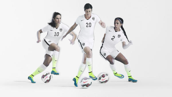 Striking U.S. Women's National Team Home Kit and Footwear Collection From Nike