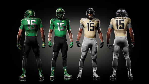 Oregon Ducks Continue Spring Game Uniform Tradition to Salute the Day